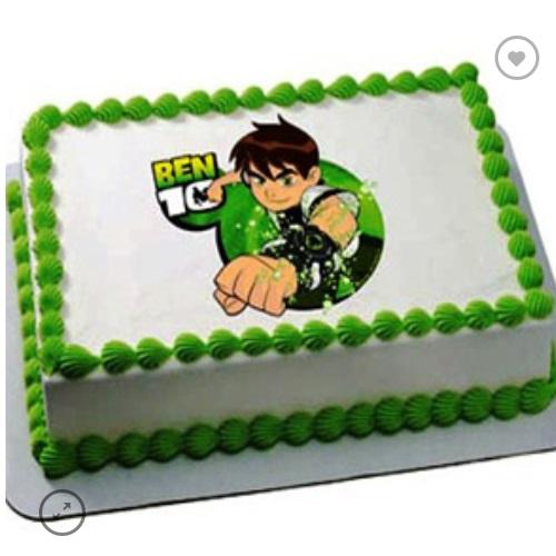 Ben Ten Photo Cake