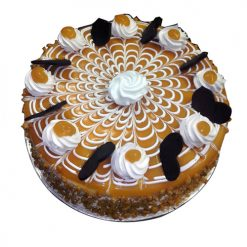 Cool Butterscotch Cake