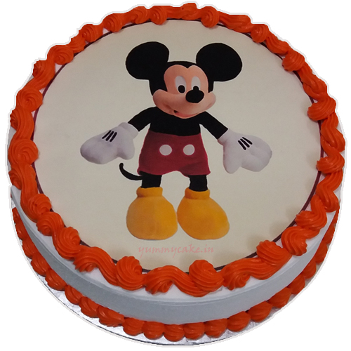 Mickey Mouse Cartoon Cake