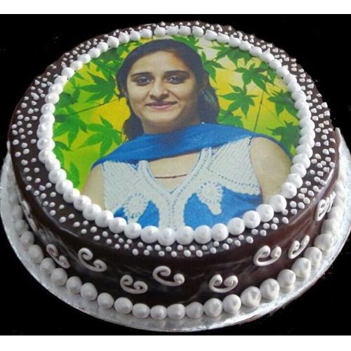 Photo Birthday Cake For Mom