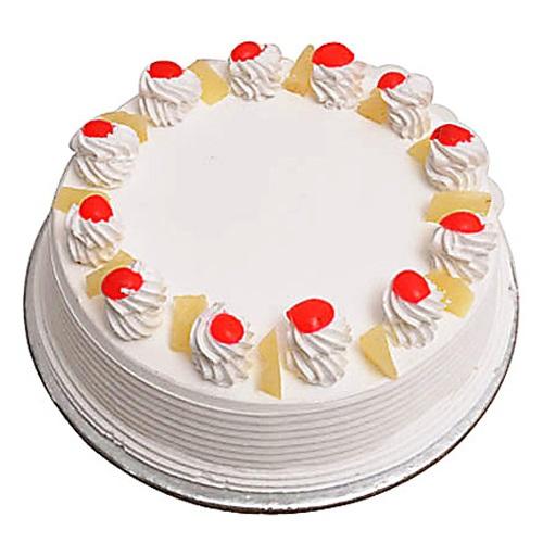 1 kg Eggless Pineapple Cake