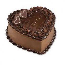 1 Kg Heart Shape Chocolate