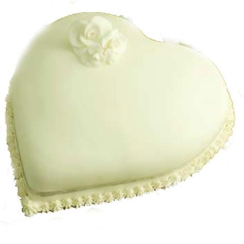 Heart Anniversary Cake 1kg