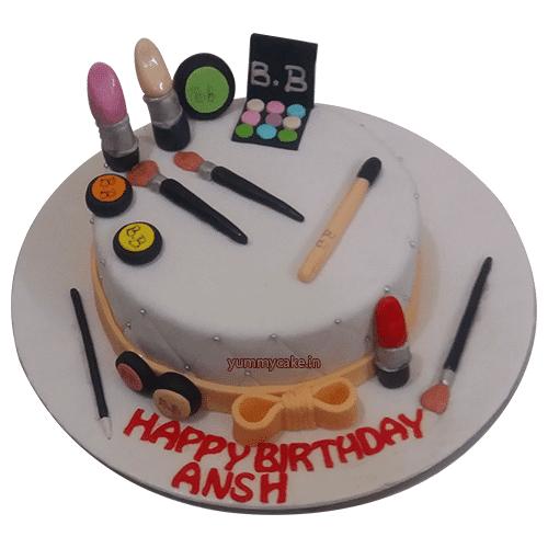 MAC Makeup Cake Price Designs For Birthday