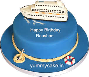 Luxury Ship Cake