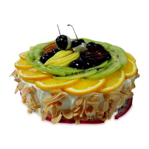Yummy Fresh Fruit Cake