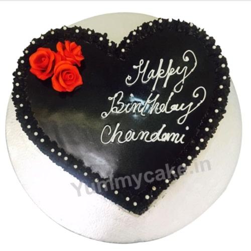 Heart Shaped Designer Cake