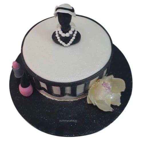 Blissful Bridal Shower Cake