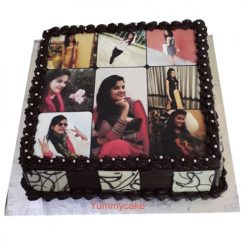 Birthday Cake With Photo