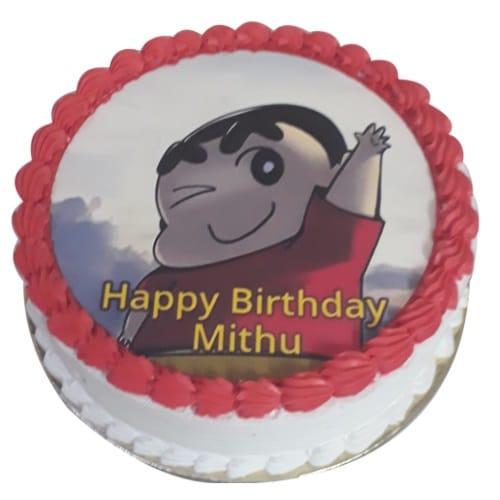 Shinchan Cake