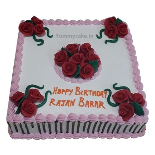 3kg Pineapple Birthday Cake