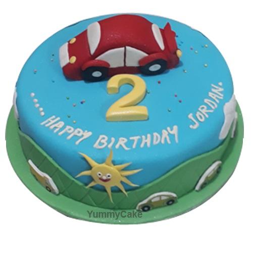 2nd Birthday Cake for Boy