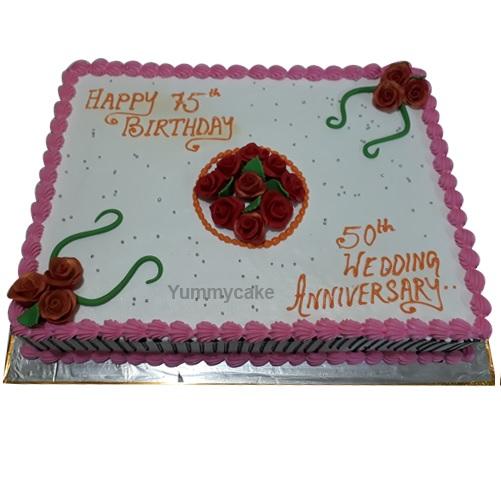 5 kg Anniversary Cake