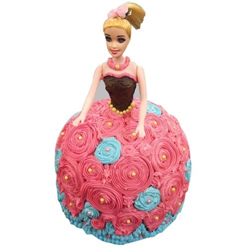 Classy Barbie Cake