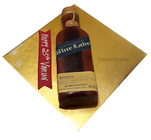Johnnie Walker Blue Label Cake