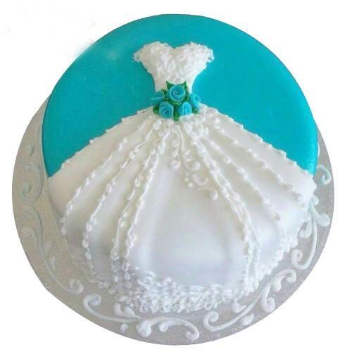 Cool Bridal Shower Cake