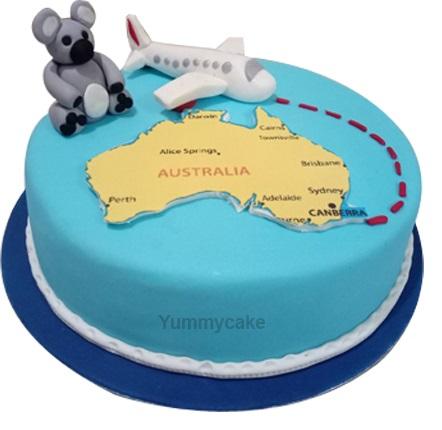 Cake For Foreign Return