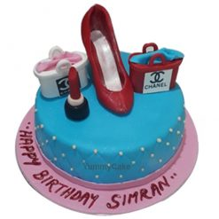 Designer Handbag Birthday Cake