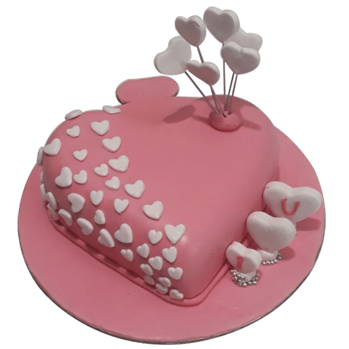 Heart Shaped Cake 1kg Inr 1499 Only Free Delivery