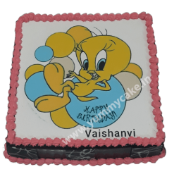 Tweety Bird Birthday Cake