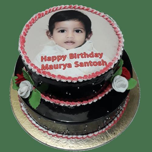 Chocolate Photo Cake