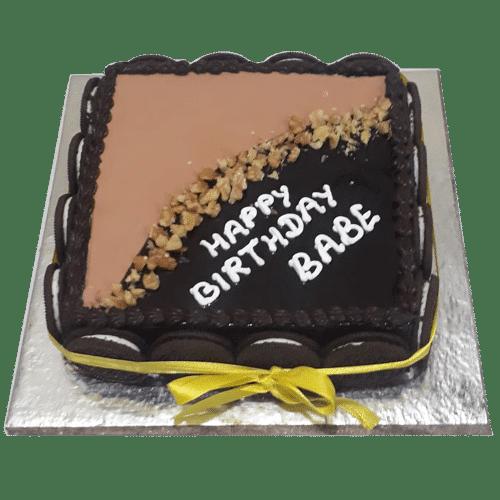 Admirable Oreo Birthday Cakes Online Best Cake Doorstepcake Funny Birthday Cards Online Benoljebrpdamsfinfo