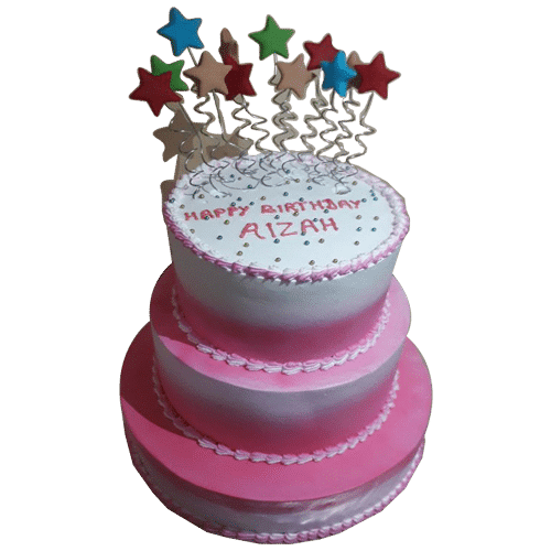 3 Tier 5 kg Birthday Cake