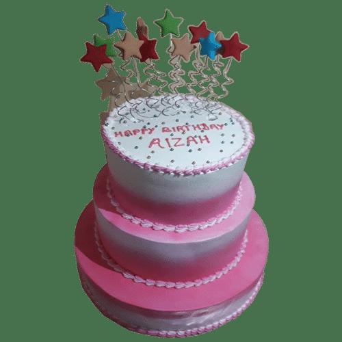 3 Tier 5 kg Birthday Cake