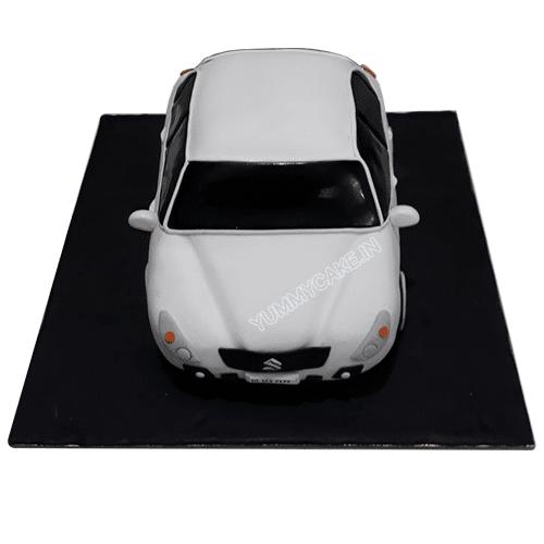 Car Shaped Birthday Cake