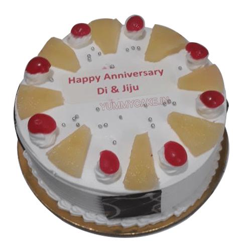 Fancy Pineapple Cake
