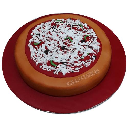 Pizza Cake for Birthday