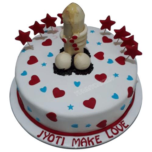 Erected Penis Cake