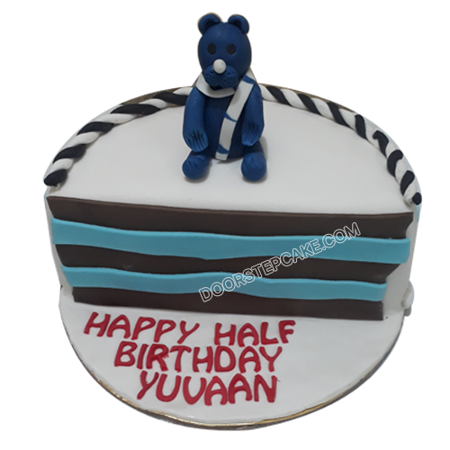Half Year Birthday Cake