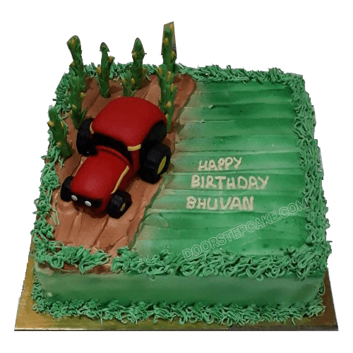 Tractor Cake For Birthday