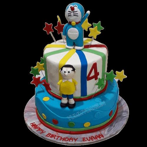 Doraemon Nobita Cake