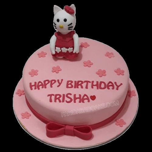 Hello Kitty Cake Designs For Birthday