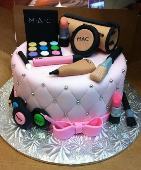 makeup cakes for bachelors party