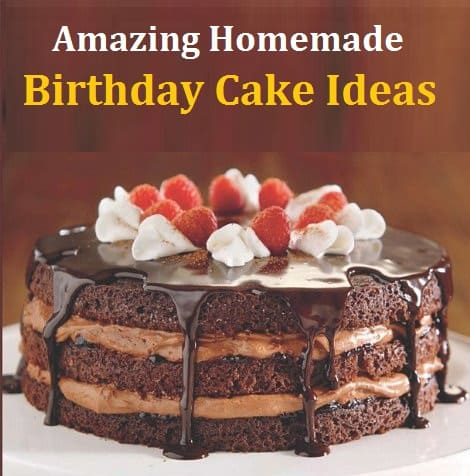 Astounding Amazing Homemade Birthday Cake Ideas Doorstep Cake Birthday Cards Printable Trancafe Filternl