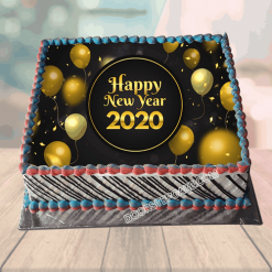Happy New Year Cake Gift