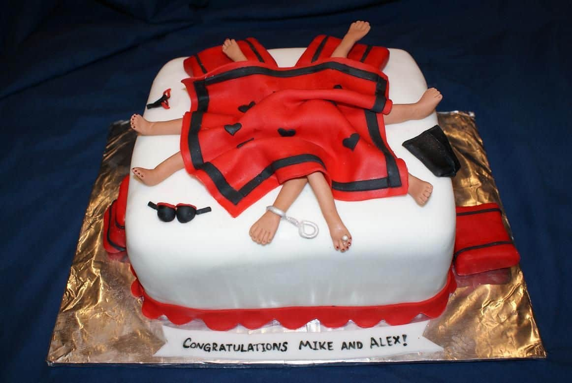 bachelor party cake ideas